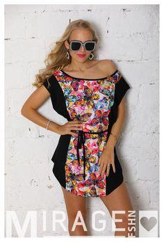 Ez a Mirage Gréta lepkés ruha igazi vidámságbomba ennek a rengeteg színnek köszönhetően! Ragyogja be a Te napodat is! #nőiruha #nőiruhawebáruház #nőiruharendelés #Mirage #rendeljonline #maradjotthon #vigyázzunkegymásra Lily Pulitzer, Cover Up, Dresses, Fashion, Bebe, Vestidos, Moda, Fashion Styles, Dress