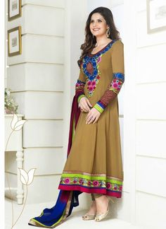 bollywood style lomg length anarkali suits, noone can dislike it