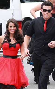 Finchel!! Monchele!! I was literally just watching this episode!!