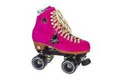 Riedell Quad Roller Skates - Lolly Fuchsia