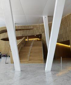 Opera House Architecture, Arch Architecture, Amazing Architecture, Oslo Opera House, Branding Design, Interior Design, Norway, Offices, Interiors