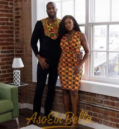 Have you been wondering how you can twin up your Ankara fashion outfit with your boo or bae? Then, this Ankara slay inspiration is for you. The designer, Diyanu, created… Couples African Outfits, African Clothing For Men, Couple Outfits, African Attire, African Wear, African Women, African Style, Nigerian Men Fashion, Latest African Fashion Dresses