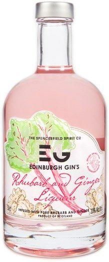 Edinburgh Gin's Rhubarb & Ginger Likør 50cl 20%