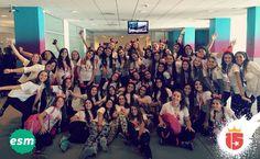 Antes de salir fotografiamos nuestras caras expectantes y llenas de alegría por lo que se viene con #esmeraldaF16! Con #enjoy15!