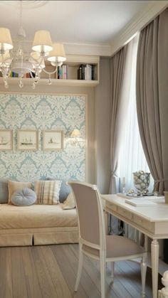 fabulous room design, would make a precious office!