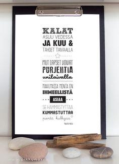 Lastenlaulujuliste ja -postikortti.Lyrics posters and postcards from 4.20 €