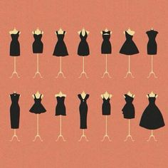 You're never overdressed or underdressed with a little black dress!