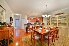 Bayville Shores Model Home in Fenwick, DE - Kitchen and Dining Room