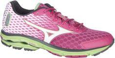 Mizuno Womens Wave Ride 18 Athletic Shoes 9.5, Women's, Size: 9.5M, White