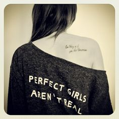 Perfect girl tattoo ;)