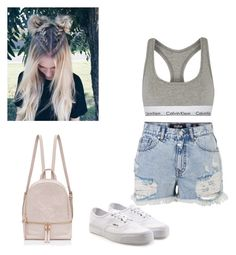 """Simple"" by jewel-mt on Polyvore featuring Calvin Klein Underwear and Vans"