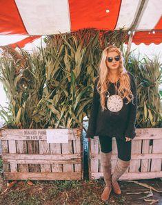 Pumpkin Pickin' - Barefoot Blonde by Amber Fillerup Clark