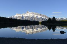 Mount Rundle from Two Jack