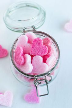 how to make sugar hearts Diy Ombre, Heart Wallpaper, Love Wallpaper, Valentines Day Treats, Be My Valentine, Printable Valentine, Homemade Valentines, Valentine Gifts, Pink Images