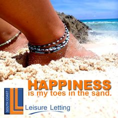 One of the best things to do while on holiday over the festive season is to feel the beach sand between your toes!