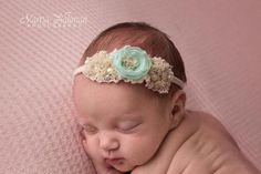 Flower Girl Headbands, Newborn Headbands, Toddler Photography, Photography Props, Newborn Photo Props, Newborn Photos, Newborn Tieback, Toddler Photos, Chiffon Flowers