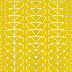 Linear Stem Wallpaper Mimosa - orla kiely.com