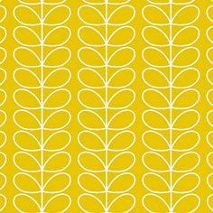 Linear Stem Wallpaper Mimosa