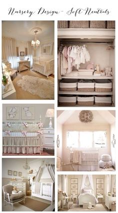 Nursery Design- Soft Neutrals Inspiration Board