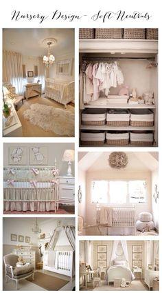 Nursery Design- Soft Neutrals Inspiration Board