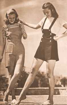 Playsuit: The Popular Fashion of Young Women From the 1940s