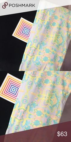 New Lularoe💕NWT OS Leggings Just in! NWT OS These almost look like the glow in the dark!  Love them had to buy!!  Hope you do too!  Very fresh! LuLaRoe Other