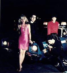 Blondie  Outtakes from Plastic Letter photo shoot (1977)