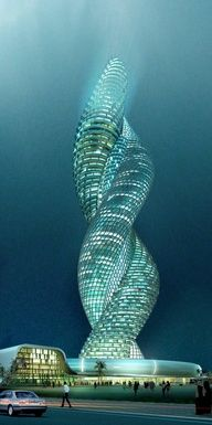 Cobra Towers in Kuwait, Repinned onto All Colorful Places to Go @hotel_pictures