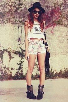 looks hipster femininos