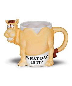 Look what I found on #zulily! 'What Day is it?' Mug by BigMouth Inc. #zulilyfinds