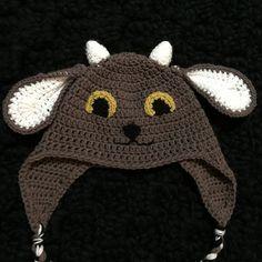 Ravelry: Crochet Goat Hat Pattern pattern by Megan Unay