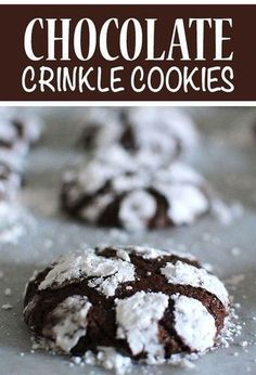 Chocolate Crinkle Cookies are one of the easiest holiday cookies! #cookie #cookies #chocolatecrinkles #crinkles #crinklecookie #crinklecookies #cookierecipes #cookielove #cookiesrecipes #christmas #christmasfood #christmasrecipes #christmasdesserts #christmasdessert #holidaytime #easyrecipe #easydesserts #desserttime #desserts #dessertrecipes #dessertlover #christmaspartyfood #tistheseason #holiday #letseatcake #allrecipes #buzzfeedfood #food #diyfood #foodblogger #foodrecipes #foodideas