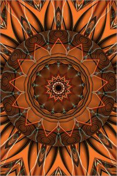 Christine Bässler - Mandala - Mutter Erde