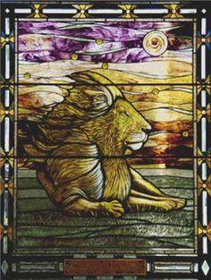 Cross Stitch Craze: Stained Glass Cross Stitch Patterns lion