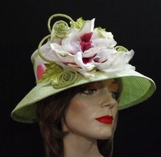Kentucky Derby hats, Preakness custom hats Royal Ascot, Couture millinery Special Occasion Bridal hats & Headpieces Belmont Stakes Melbourne Cup, Easter hats