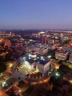 Columbia, SC - We visited my husband's nephew who is a student at USC- seems like a cool town- only spent one night