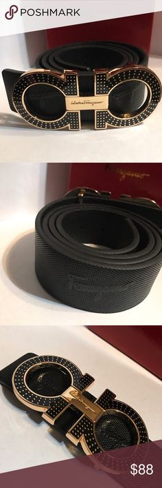 Ferragamo belt Comes with original box and dust bag....will ship same day or next morning if to late .... if any questions comment below or text me at 407-744-8812 thank you for shopping at luxury fashions Ferragamo Accessories Belts