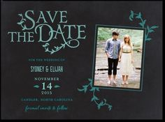 Growing Together photo save the date.