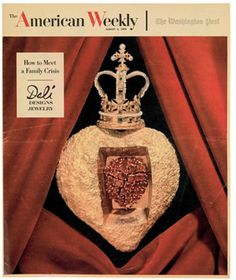 The American Weekly, cover by Salvador Dali