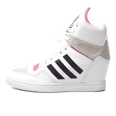 competitive price 4dc47 6b926 Adidas Originals M Attitude Up B35324 White Pink Womens Athletic Sneakers  Shoes