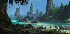 Digital Painting: Concept Landscapes - Skillshare class $25