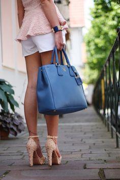 shoes + bag...