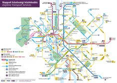 How to discover Budapest with their easy public transport system and have a wonderful time. Here is what you need to know about Budapest City Cards. Coach Travel, Bus Travel, Travel Maps, Travel Planner, Travel Alone, Budapest City, Budapest Travel, Budapest Hungary, Transport Map