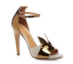 Rondine Bronze Sandals