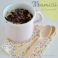 Tiramisu per bambini: un ottimo dessert (o merenda) dell'ultimo minuto