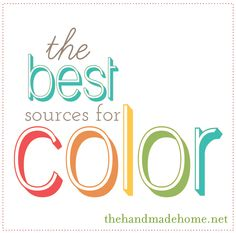 Great ideas about where to start when choosing colors for the home.