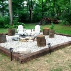 Backyard porch ideas on a budget patio makeover outdoor spaces inspirational inspiration for backyard fire pit designs fire pit area fire - Savvy Ways About Things Can Teach Us Fire Pit Area, Fire Pit Seating, Fire Pits, Backyard Shade, Fire Pit Backyard, Backyard Cabin, Wedding Backyard, Wedding Table, Gravel Patio