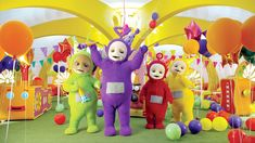 The Teletubbies have balloons, party blowers and lots of sparkles. They visit the Tiddlytubbies and do a fun party dance. In Tummy Tales, twins celebrate their birthday with all their friends. Trivia.This is the thirtieth episode of the new series.