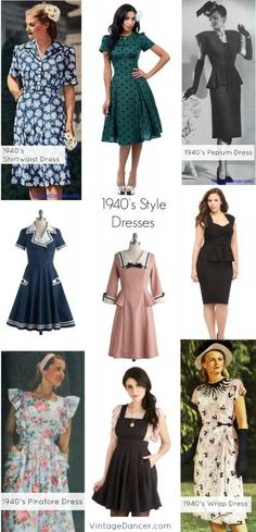 Five Classic Vintage Hairstyles Wednesday Wish List 13 Style Hair 1940s And Vintage