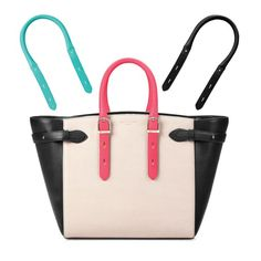 Bespoke Medium Marylebone Tech Tote in Monochrome Mix from Aspinal of London